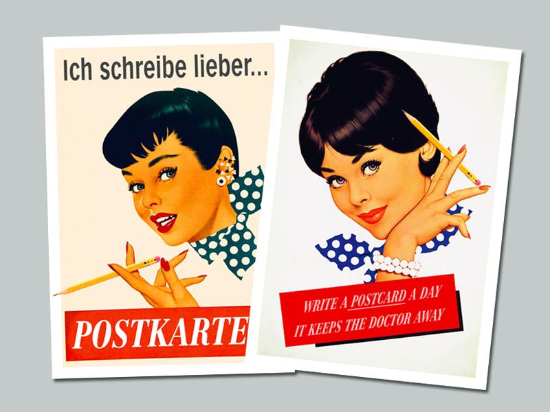 Mary Long Postkarten