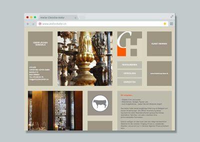 Atelier Hofer – Website