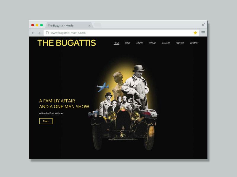 The Bugattis Movie – Website