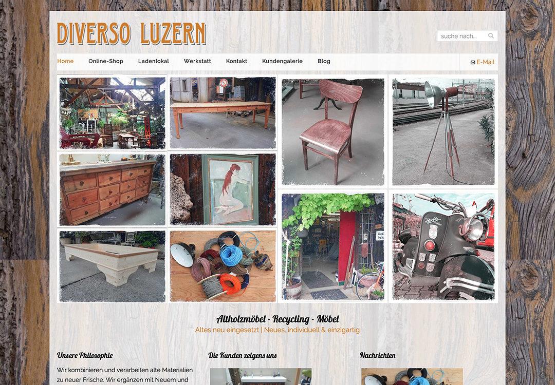 Diverso Luzern – Online Shop