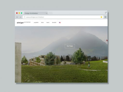 Elmiger Architekten – Website