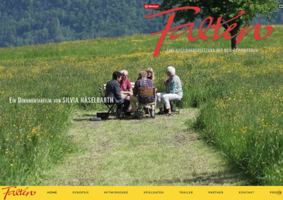 Falten – Der Film – Website