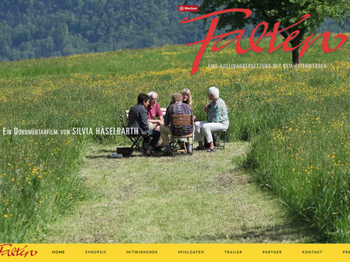 Falten – Der Film – Website