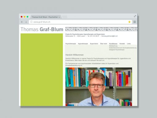 Thomas Graf-Blum Psychotherapeut – Website