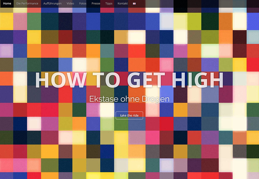 How To Get High – Website