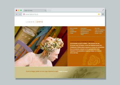 Labor & Arte – Website
