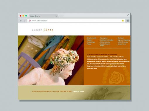 Labor & Arte – Website