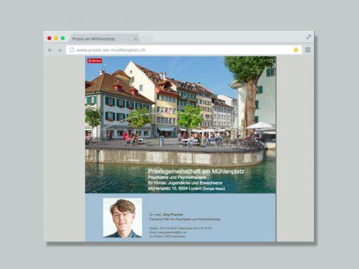 Praxis am Mühlenplatz – Website