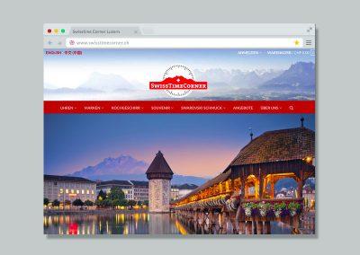Swisstime Corner – Website