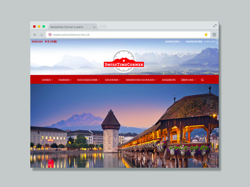 Swisstime Corner – Website