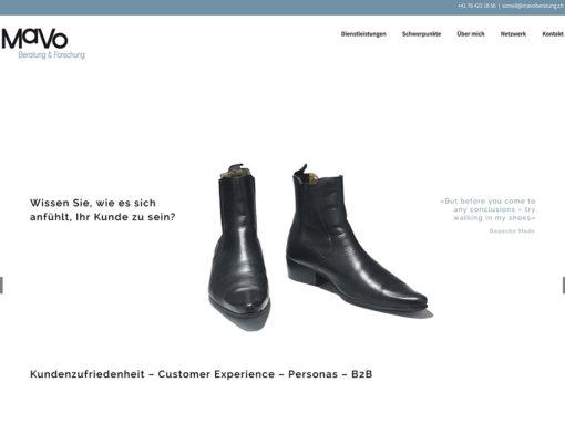 MaVo Beratung & Forschung – Website