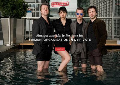 Improphil Theatersport – Website