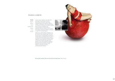 Nadja Lerch Skulpturen – Website