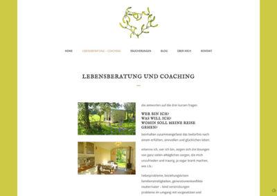Petra Mattmann Lebenscoaching – Website