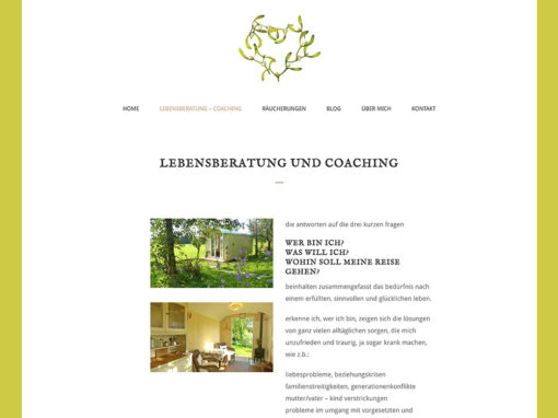 Petra Mattmann Lebenscoaching – Website