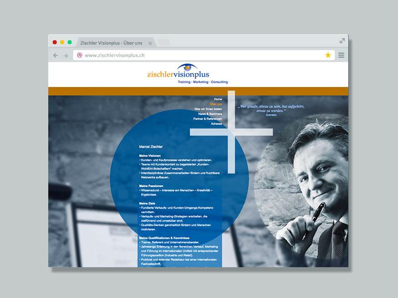 Zischler Visionplus – Website