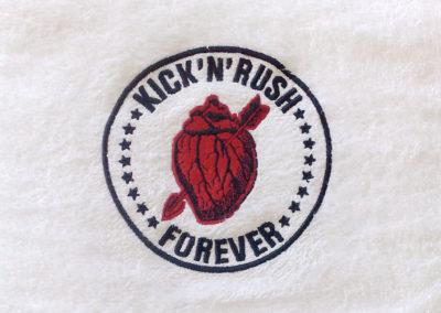 kick'n'rush Logo Design