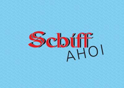 Restaurant Schiff Wiedereröffnung – Postkarte