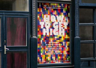 How To Get High – Plakat und Postkarte