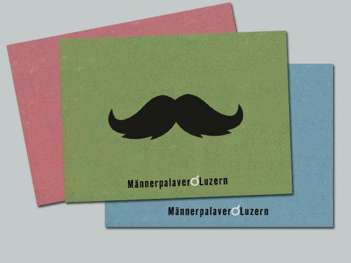 Postkartenserie Männerpalaver