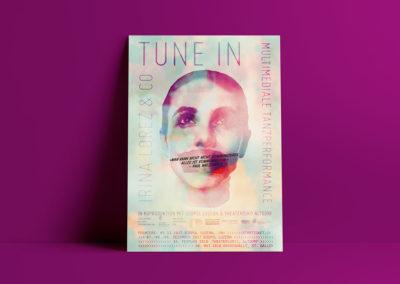 Tune In – Plakat für Irina Lorez & Co